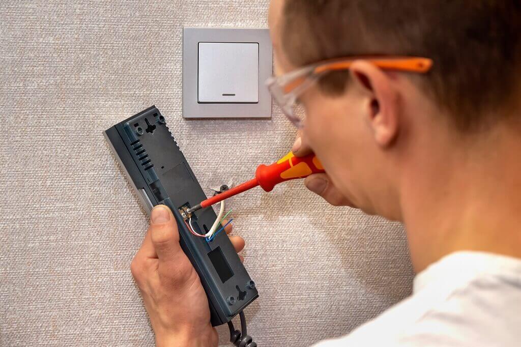 Home Intercom System Repair